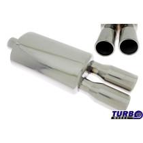 Sport kipufogó dob TurboWorks 36 2,5